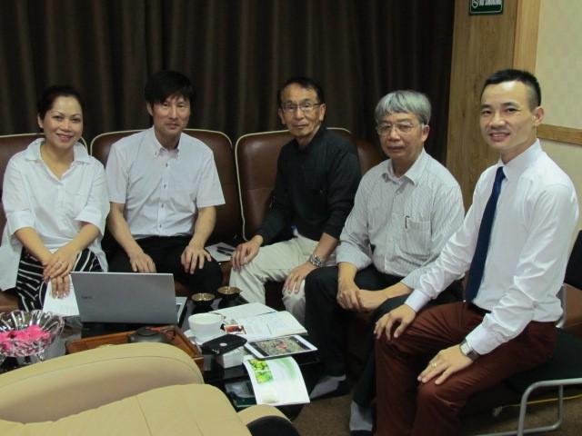 Đoàn công tác Kawasaki Kiko thăm và làm việc cùng Ntea