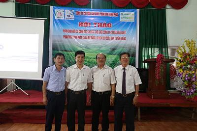 Công ty cổ phần sản xuất phân bón hữu cơ Thịnh phát - Thành viên tập đoàn NTEA Việt Nam ký kết hợp tác tiêu thụ với  27 nông hộ