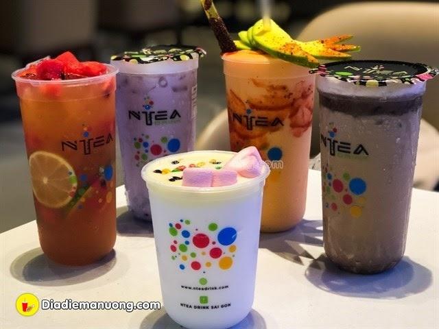 NTEA DRINK THANH HÓA- GÓC SỐNG ẢO MỚI CỦA GIỚI TRẺ