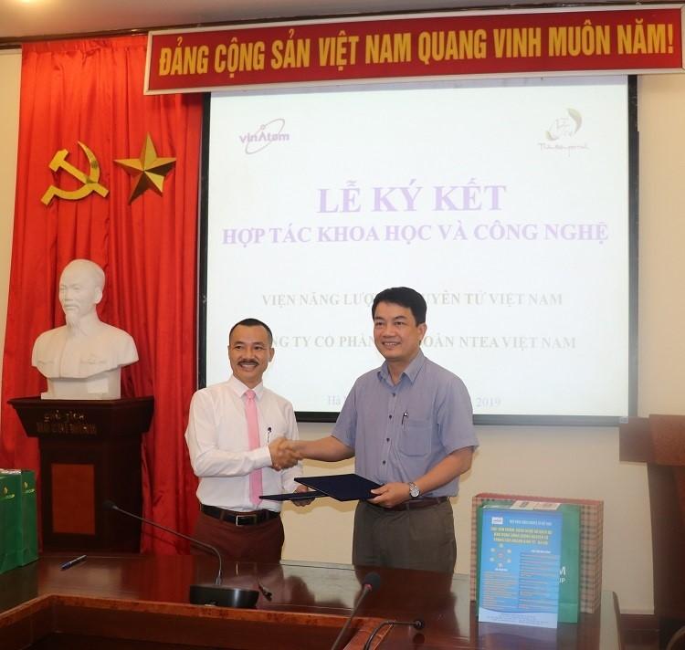 NTEA Việt Nam ký kết Biên bản Hợp tác với Viện Năng lượng nguyên tử Việt Nam
