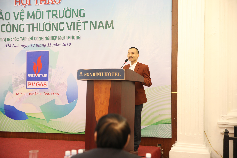 Ntea việt nam tham dự  hội thảo : bảo vệ môi trường ngành Công Thương
