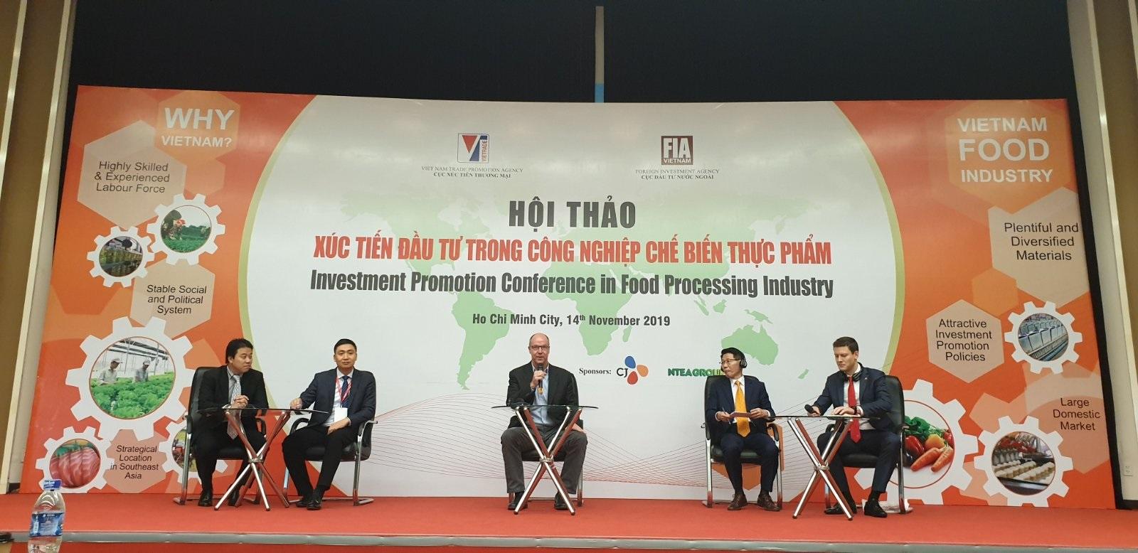 Ntea việt nam thảo luận về vấn đề : Xúc tiến đầu tư trong lĩnh vực công nghiệp chế biến thực phẩm