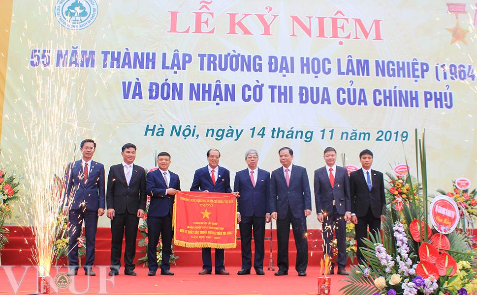 Ntea việt nam tham dự sự kiện : Lễ Kỷ Niệm 55 năm thành lập Trường Đại học Lâm Nghiệp (1964 - 2019) và đón nhận Cờ thi đua của Chính phủ