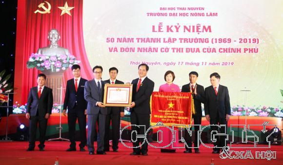 NTEA Việt Nam tham dự kỷ niệm 50 năm ngày thành lập trường Đại học Nông Lâm (Đại học Thái Nguyên) (1969 - 2019)