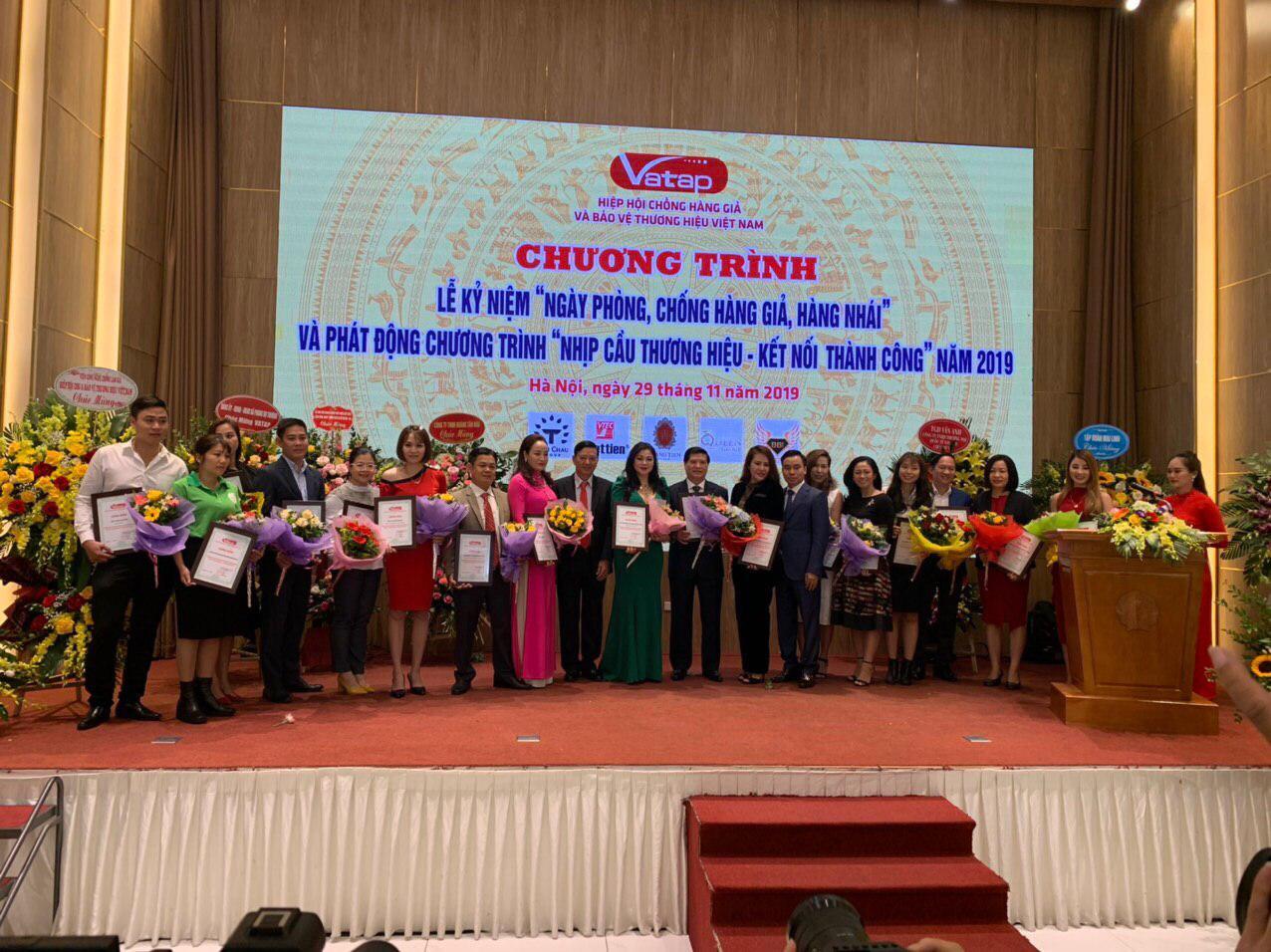 Ntea Việt Nam tham dự: Lễ kỷ niệm ngày phòng chống hàng giả, hàng nhái năm 2019