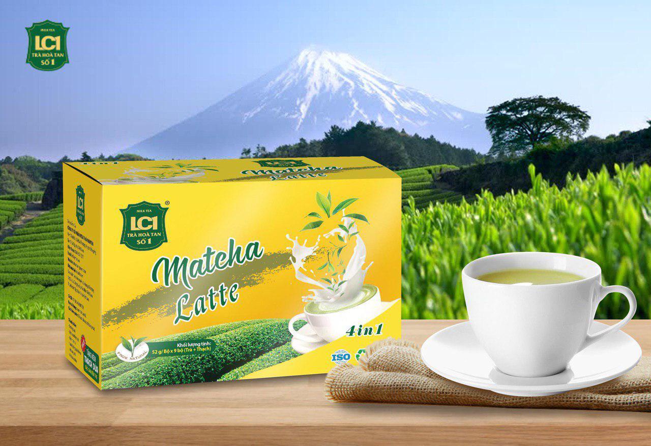 Ra mắt sản phẩm trà hòa tan LC1 4 in1