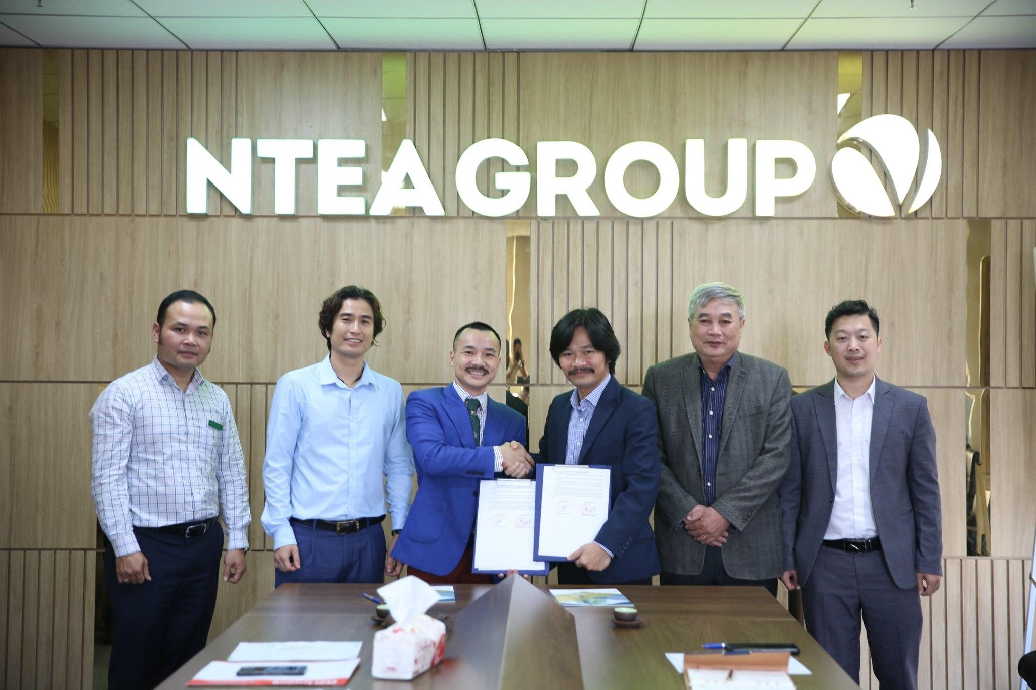 Ntea group và Tạp chí công nghiệp môi trường ký kết biên bản hợp tác