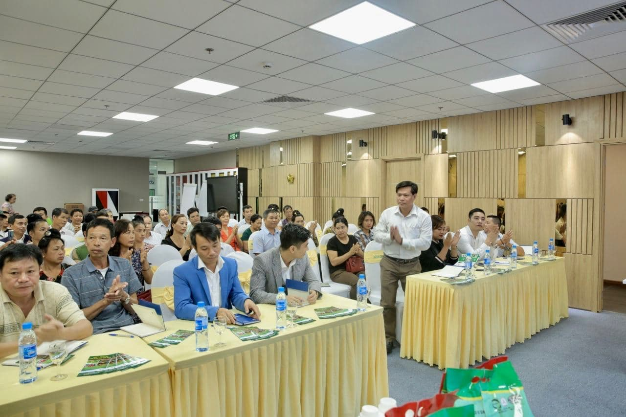 Liên Minh HTX tỉnh Sơn La đến thăm và làm việc tại công ty CP Tập đoàn Ntea Việt Nam