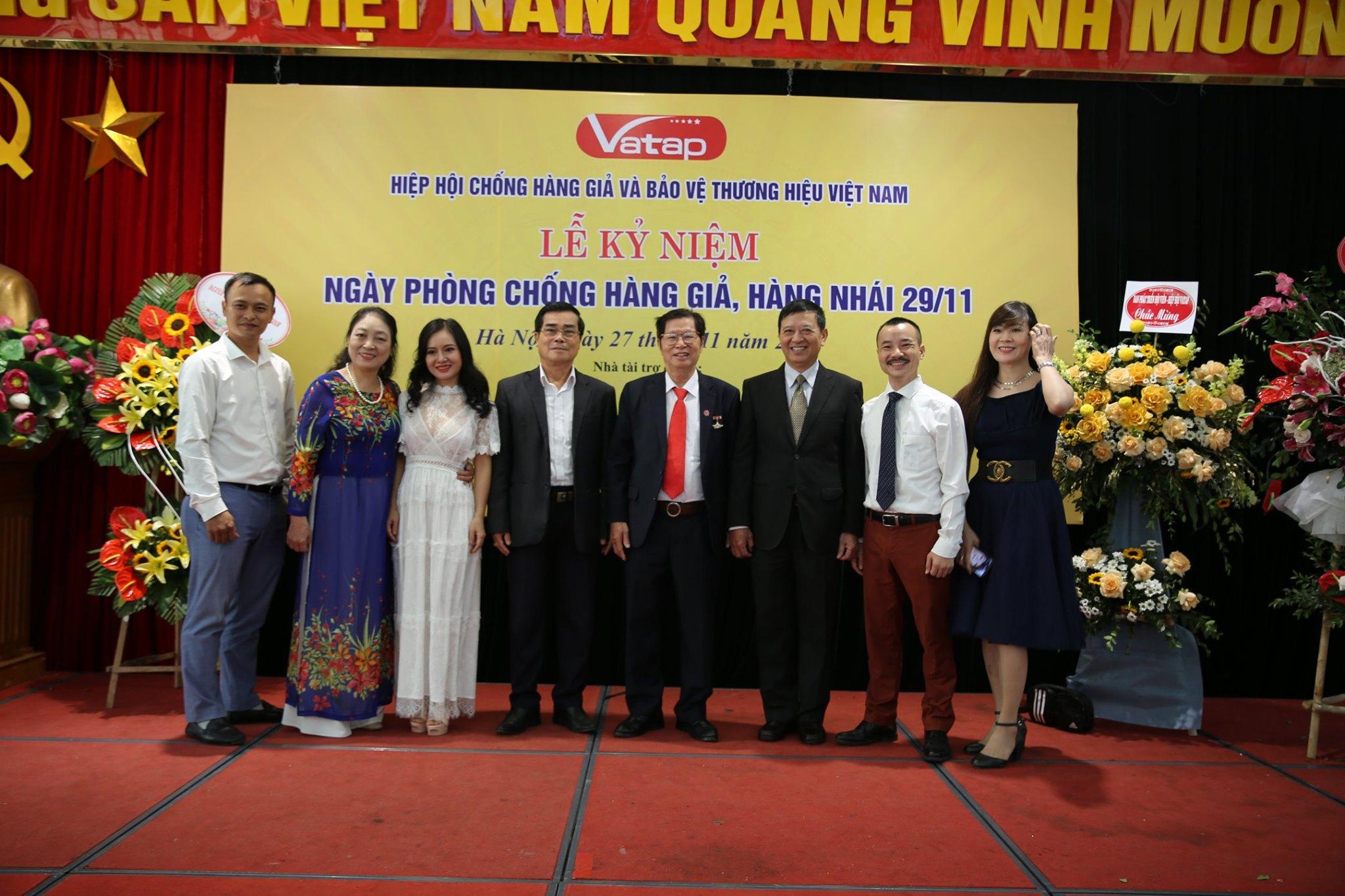 Ntea Việt Nam tham dự Lễ kỷ niệm ngày phòng, chống hàng giả, hàng nhái (29/11)