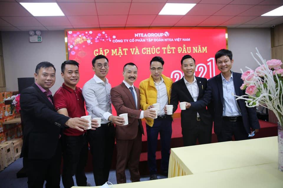 Công ty Ntea tổ chức khai xuân chúc tết đầu năm