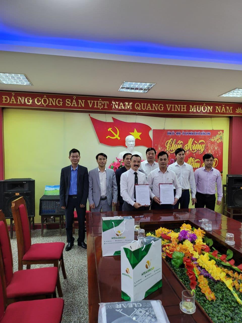 Tập đoàn Ntea làm việc tại Quảng Ninh