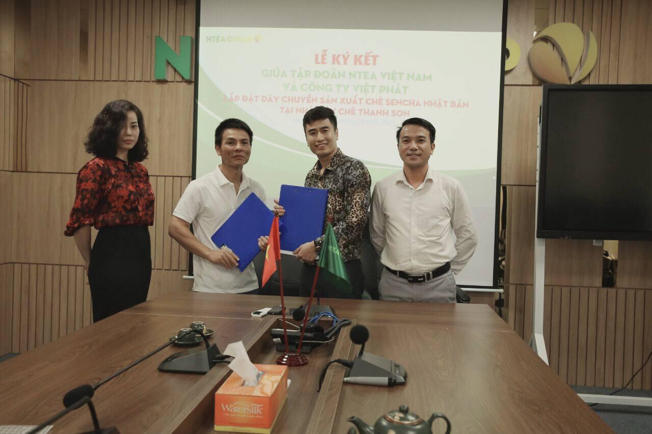 Ntea ký kết hợp tác với Công ty CP thương mại và dịch vụ Việt Phát